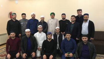 Мухаммад Аль-Айдарус посетил наше медресе